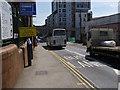 SK5739 : Queen's Road bus lane by Alan Murray-Rust