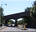 TG2307 : Southwell Road Bridge by Adrian Cable
