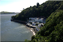 SH5837 : Harbour at Portmeirion by Mike Pennington