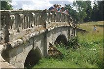 SP2556 : Bridge over the River Dene, Charlecote Park by Stephen McKay