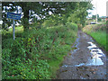 SP0869 : Moss Lane past Pink Green HIlls Farm, Pink Green by Robin Stott
