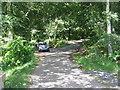 NT7855 : Track into Duns Castle Nature Reserve by M J Richardson