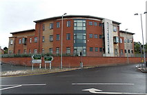 SO1091 : Mid Wales Housing Association Head Office, Newtown by Jaggery