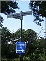 TM2893 : Roadsign on Wash Lane by Adrian Cable