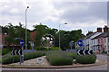 TM4557 : Roundabout, Aldeburgh by Ian Taylor