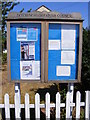 TM3391 : Ditchingham Village Notice Board by Adrian Cable