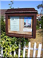 TM3391 : Church Notices Board by Geographer