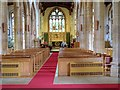 TM0533 : St Mary's Parish Church, Dedham , Nave and Chancel by David Dixon