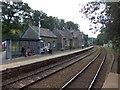 SS6811 : Platform 2 of Eggesford Station by David Smith