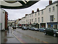 SP3265 : Looking down Clemens Street in the rain by Robin Stott