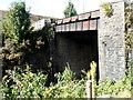 ST0193 : South side of a river bridge, Pontygwaith by Jaggery