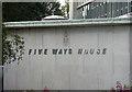 SP0585 : Detail of Five Ways House, Islington Row, Birmingham by Stephen Richards