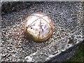 SN1306 : Grave Detail - Sardis Chapel by welshbabe