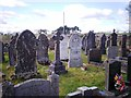 SN1306 : Sardis Chapel, near Wiseman's Bridge - graveyard by welshbabe