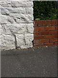 SK5276 : OS benchmark - Whitwell old Post Office by Richard Law