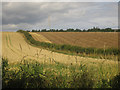 NT9753 : Arable land near Letham Shank by Graham Robson