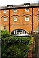 SU7670 : The River Loddon flows under Sindlesham Mill by Steve Daniels