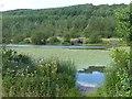 SO1103 : View across Parc Cwm Darran Lake (3) by Robin Drayton