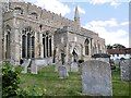 TL7645 : St Peter and St Paul's Church, Clare by David Dixon