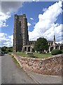 TL9148 : The Church of St Peter and St Paul, Lavenham by David Dixon