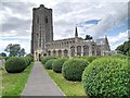 TL9149 : The Church of St Peter and St Paul, Lavenham by David Dixon
