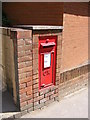 TM2737 : 302 High Road George V Postbox by Adrian Cable