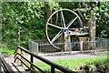 NU0701 : Waterwheel at Cragside by Jim Barton