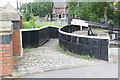 SJ8698 : Roving bridge at Lock No.7 (1) by Alan Murray-Rust