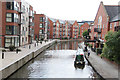 SJ8598 : Ashton Canal at Piccadilly Village by Alan Murray-Rust