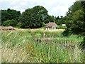 TF3465 : East side of the moat, Bolingbroke Castle by Christine Johnstone