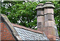 J3372 : Gate lodge roof and chimneys, Belfast by Albert Bridge