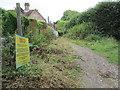 TQ0818 : Bridleway adjacent to Fryars Vineyard by Peter Holmes