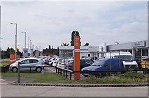 TL4661 : Car dealership - Milton Road by Sandy B