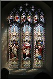 TM2749 : St Mary's Church Stained Glass Window by David Dixon