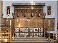 TM2749 : Altar, St Mary's Church, Woodbridge by David Dixon