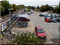 ST7082 : Yate railway station car park and cycle park by Jaggery