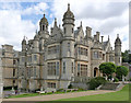 SK8932 : Harlaxton Manor from the terrace by Alan Murray-Rust