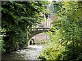 SJ8383 : The Packhorse Bridge, Quarry Bank Mill by David Dixon