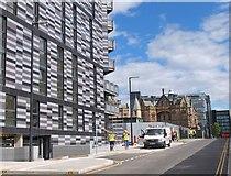 NT2572 : New development at the old Royal Infirmary, Edinburgh by Jim Barton