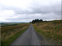 NS6829 : Road to Forkings by Iain Russell