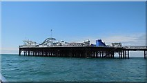 TQ3103 : Funfair at end of Brighton Pier by Paul Gillett