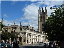SP5206 : Magdalen College and Chapel Tower, Oxford by Richard Humphrey