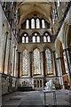 SU1429 : North Transept, Salisbury Cathedral by Julian P Guffogg