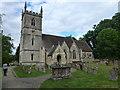 SP4414 : The Church of St Martin, Bladon near Oxford by Richard Humphrey
