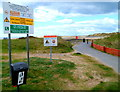 SN4400 : Warning notices, Burry Port West Beach by Jaggery