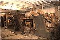 SD7721 : Higher Mill, Helmshore - fulling stocks by Chris Allen