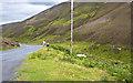 NS8610 : The road through Mennock Pass by Ian Greig