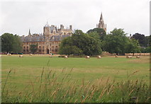 SP5105 : Christ Church Meadow, Oxford by David Hallam-Jones
