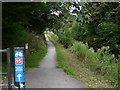 SK8833 : Grantham Canal towpath by Alan Murray-Rust