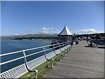 SH5873 : Garth Pier view by Richard Hoare